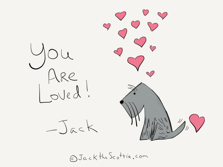 you are loved cartoon