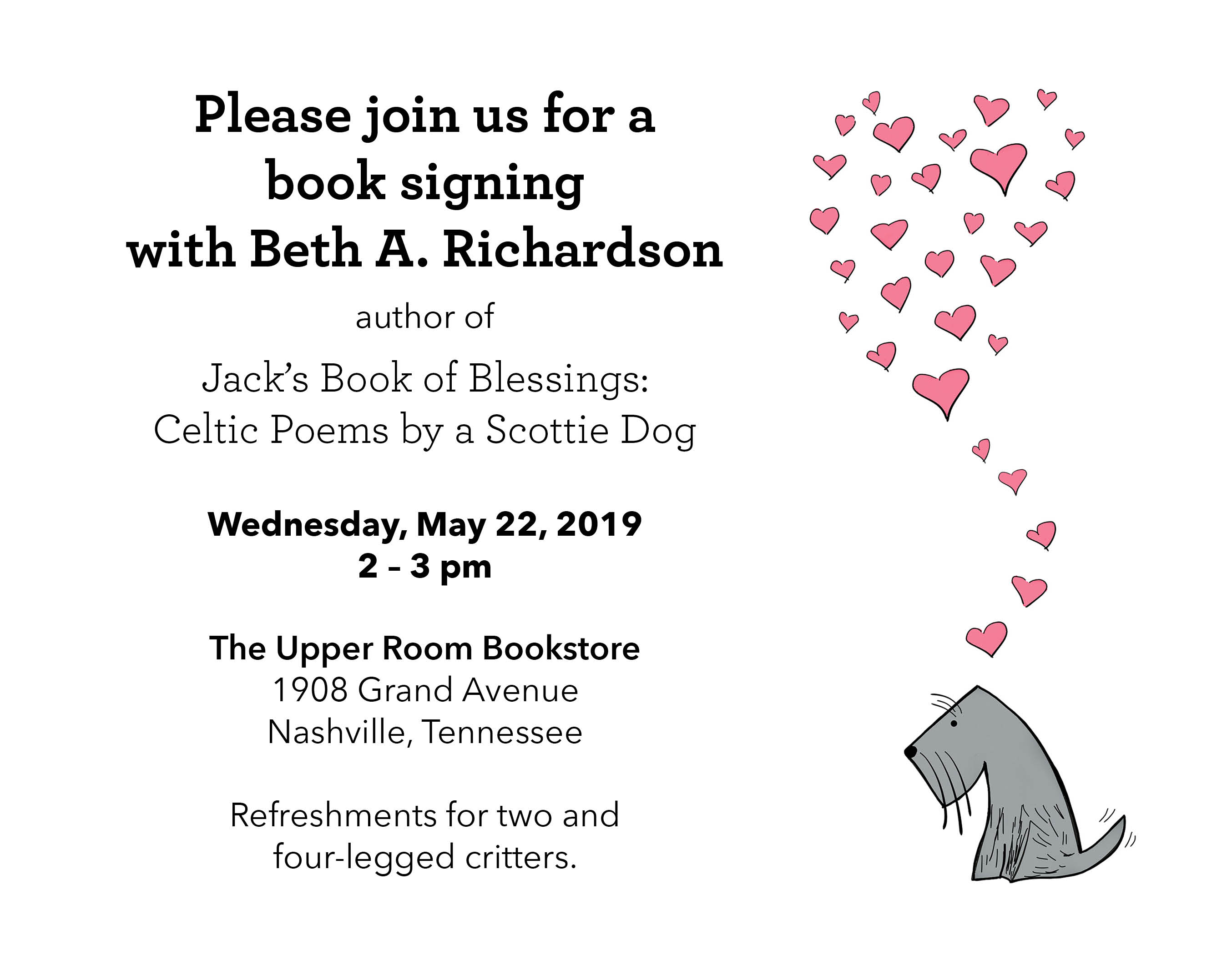 A Party for Jack's Book!